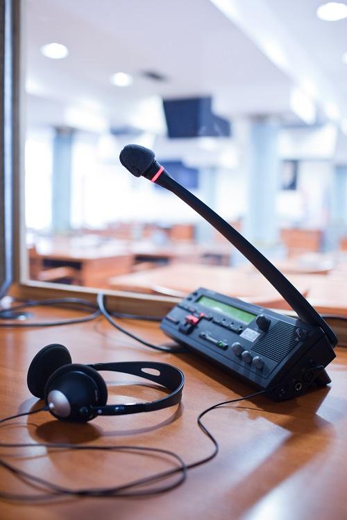 interprète de conférence